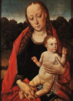 Dieric Bouts : The Virgin and Child