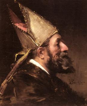 Wenceslas Vacslav Brozik : A Bishop