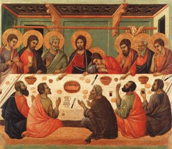 Duccio Di Buoninsegna : The Last Supper