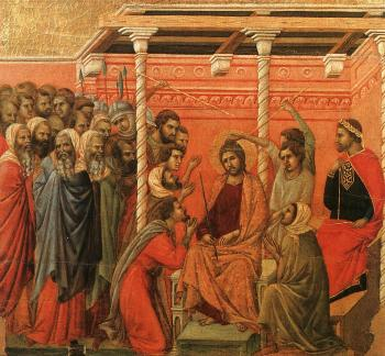 Duccio Di Buoninsegna : Crown of Thorns