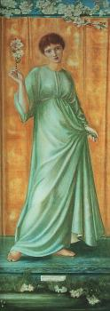 Sir Edward Coley Burne-Jones : Spring