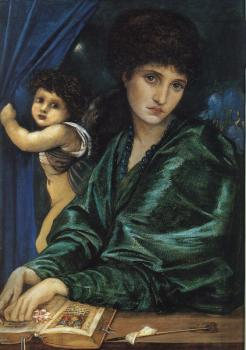 Sir Edward Coley Burne-Jones : Portrait of Maria Zambaco