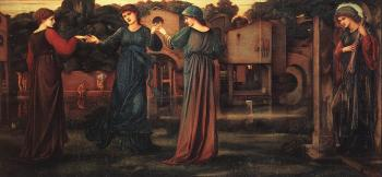Sir Edward Coley Burne-Jones : The Mill