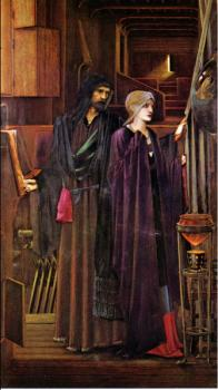Sir Edward Coley Burne-Jones : The Wizard