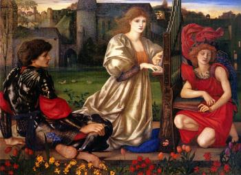Sir Edward Coley Burne-Jones : Le Chant d-Amour, Song of Love