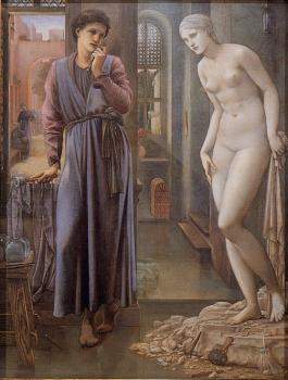 Sir Edward Coley Burne-Jones : Pygmalion and the Image 2 The Hand Refrains