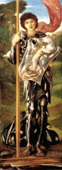 Sir Edward Coley Burne-Jones : Saint George
