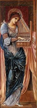 Sir Edward Coley Burne-Jones : St Cecilia