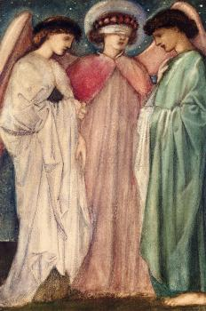Sir Edward Coley Burne-Jones : The First Marriage