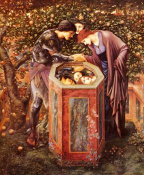 Sir Edward Coley Burne-Jones : The Baleful Head II