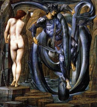 Sir Edward Coley Burne-Jones : The Perseus Series The Doom Fulfilled