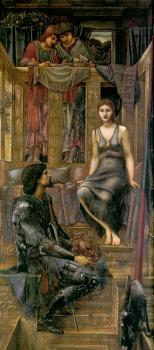 Sir Edward Coley Burne-Jones : King Cophetua and the Beggar Maid