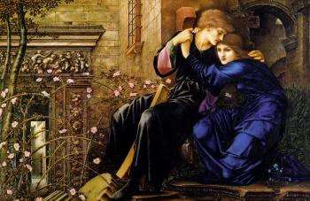 Sir Edward Coley Burne-Jones : Love Among the Ruins II