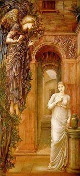 Sir Edward Coley Burne-Jones : The Annnciation