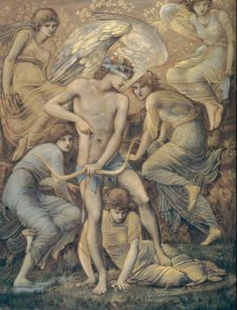Sir Edward Coley Burne-Jones : Cupids Hunting Fields