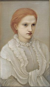 Sir Edward Coley Burne-Jones : Lady Frances Balfour