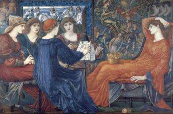Sir Edward Coley Burne-Jones : Laus Veneris