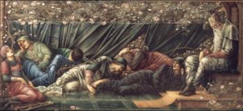 Sir Edward Coley Burne-Jones : The Briar Rose The Council Chamber
