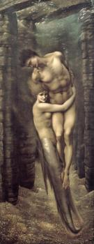 Sir Edward Coley Burne-Jones : The Depths of the Sea II