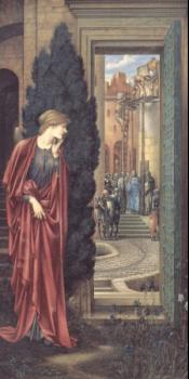 Sir Edward Coley Burne-Jones : The Tower of Brass