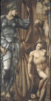 Sir Edward Coley Burne-Jones : The Wheel of Fortune II