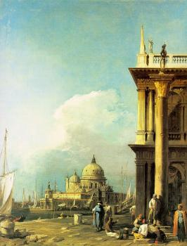 Canaletto : Entrance to the Grand Canal from the Piazzetta