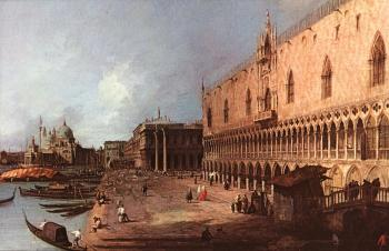 Canaletto : Doge Palace
