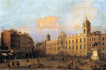 Canaletto : London, Northumberland House