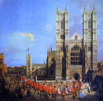 Canaletto : London, Westminster Abbey