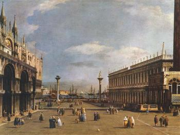 Canaletto : The Piazzetta