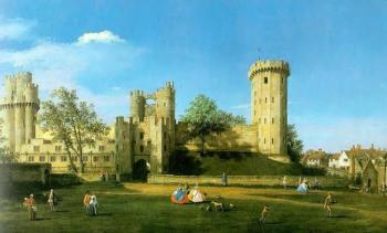 Canaletto : Warwick Castle, The East Front II