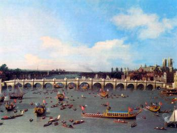 Canaletto : Westminster Bridge