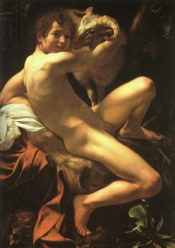 Caravaggio : St. John the Baptist as a Child