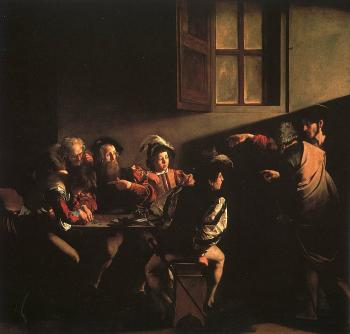 Caravaggio : The Calling of St. Matthew