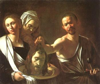 Caravaggio : Salome with the Head of the Baptist