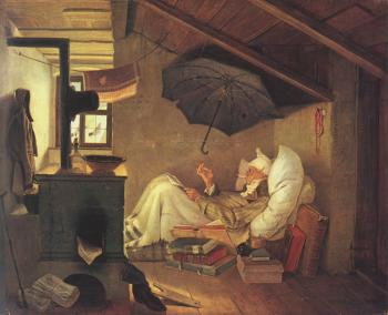 Carl Spitzweg : The Poor Poet