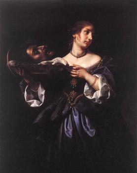 Carlo Dolci : Salome with the Head of St John the Baptist