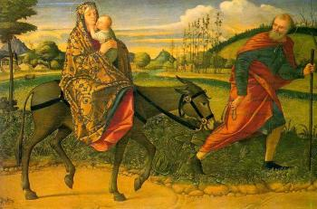 Carpaccio : The Flight into Egypt