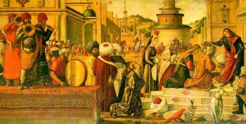 Carpaccio : The Baptism of the Selenites