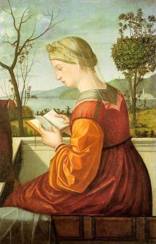 The Virgin Reading, possibly a fragment of a much larger work
