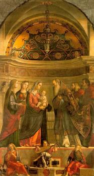 Carpaccio : Presentation in the Temple