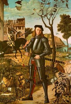 Carpaccio : Portrait of a Knight