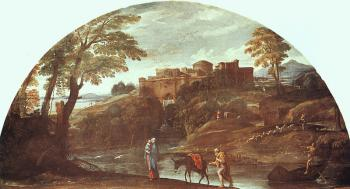 Annibale Carracci : The Flight into Egypt