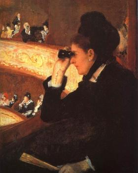 Cassatt, Mary - At the Opera