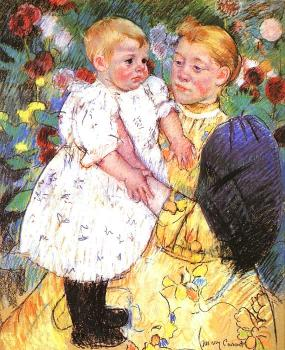 Mary Cassatt : In the Garden