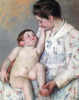 Mary Cassatt : The Caress