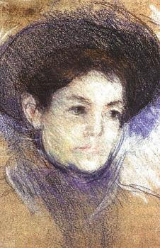 Cassatt, Mary - Portrait of a Woman