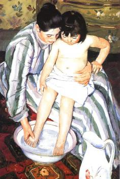 Mary Cassatt : The Bath