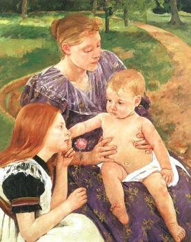 Mary Cassatt : The Family