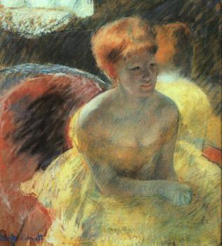 Mary Cassatt : At the Theater